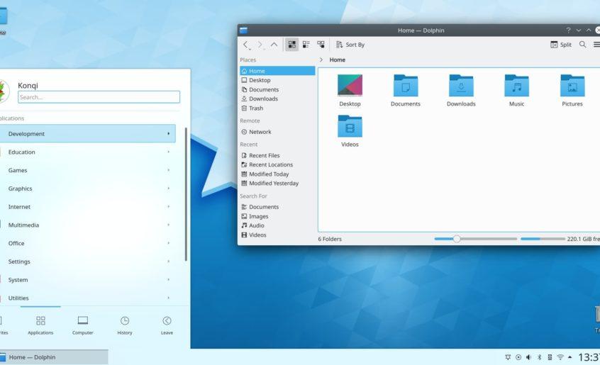 Environnements graphiques - KDE